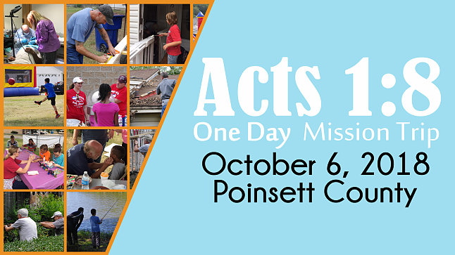 2018 Acts 1:8 One Day Mission Trip - Trinity Association