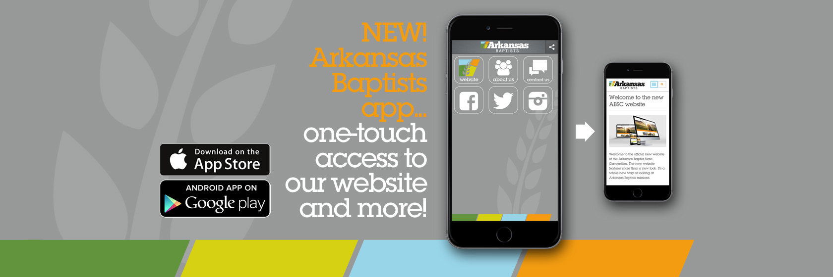 Download the Arkansas Baptists app now!