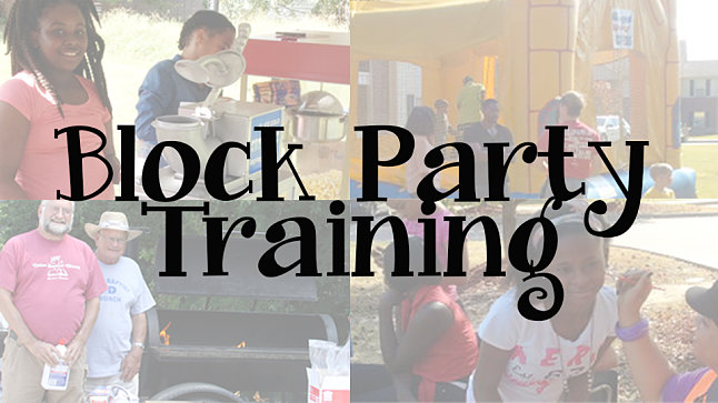 2021 Block Party Regional Training - Paragould