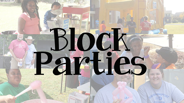 Block Party Training - Bartholomew Association