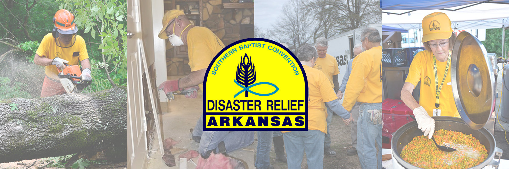 Visit abscdisasterrelief.org to learn more about training to serve in Arkansas Disaster Relief.