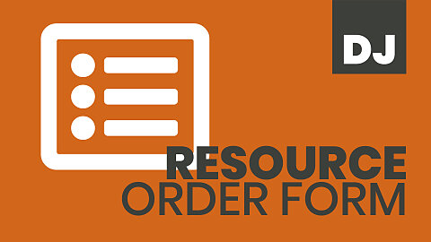 Resource Order Form — Dixie Jackson