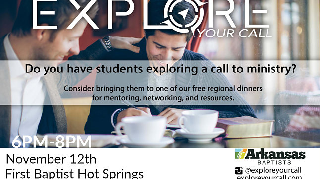 Explore Your Call -Hot Springs