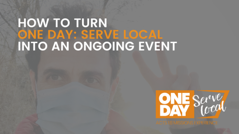 How to Turn One Day into an Ongoing Event for Your Church