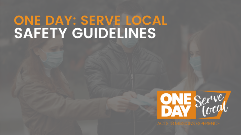 SERVE LOCAL: Safety Guidelines