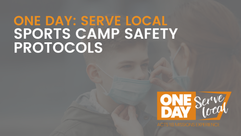 SERVE LOCAL: SPORTS CAMP SAFETY PROTOCOLS