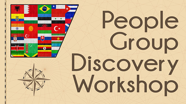 People Group Discovery Workshop - Northeast Arkansas Inactive