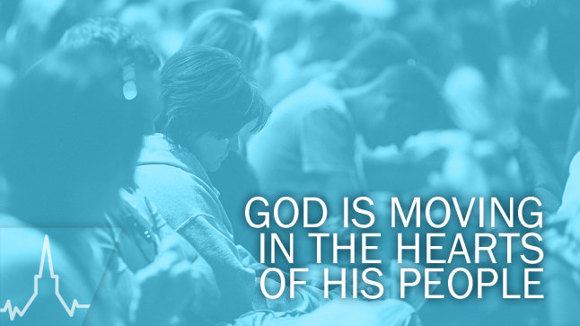 Prayer in Your Church: God Is Moving