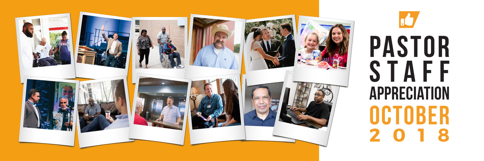 October is Pastor-Staff Appreciation month! Click here for ideas to thank them.