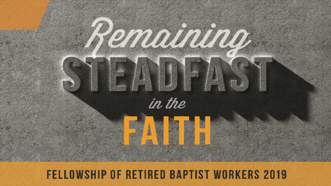 2019 Fellowship of Retired Baptist Workers