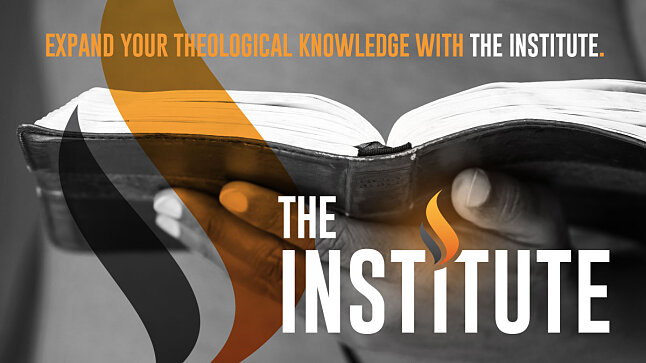 The Institute - a New Name and New Vision