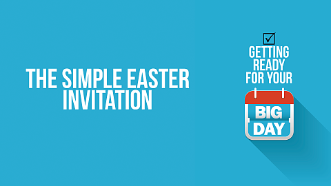 1. The Simple Easter Invitation