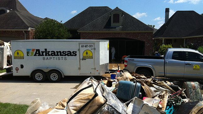 Arkansas Disaster Relief Sees God's Sovereignty over Louisiana Floods