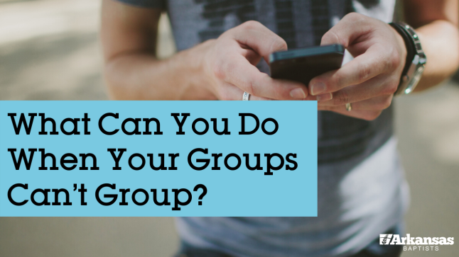 What Can You Do When Your Groups Can't Group?